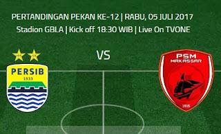 Prediksi Susunan Pemain Persib Bandung vs PSM Makassar