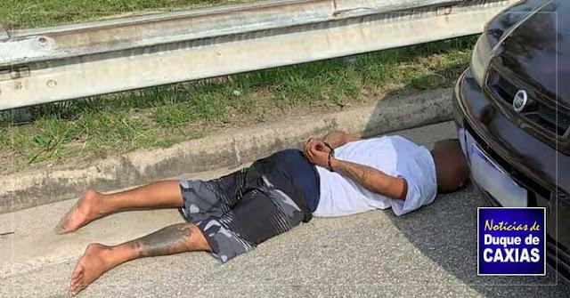 Tiroteio em Caxias termina com dois baleados e um preso