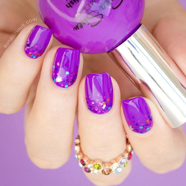 Stunning Purple Nails