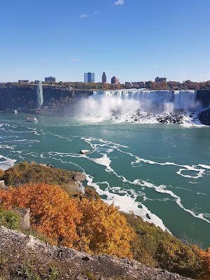 American side niagara falls canada travel blogger what claire did