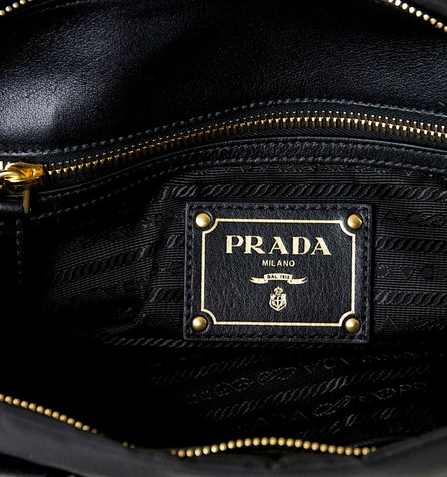 7224c9dbf049 EIFFEL COLLECTION BRANDED BAG'ZZ: Prada Bauletto Tessuto Nylon ...