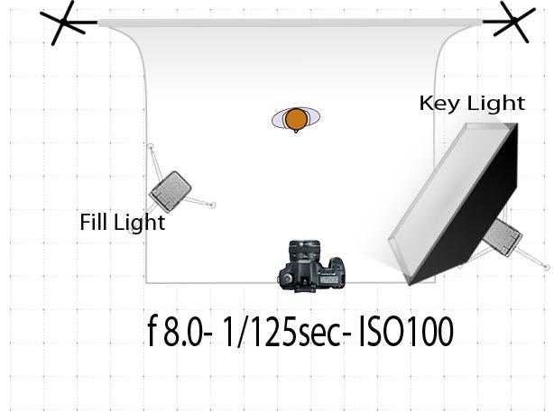 Studio Lighting Diagram Cellular Respiration Worksheet 2 Light Setup Beale Uk Photography