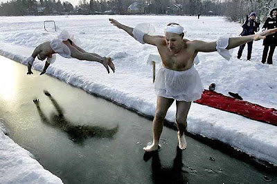 Winter ice ballet idiots
