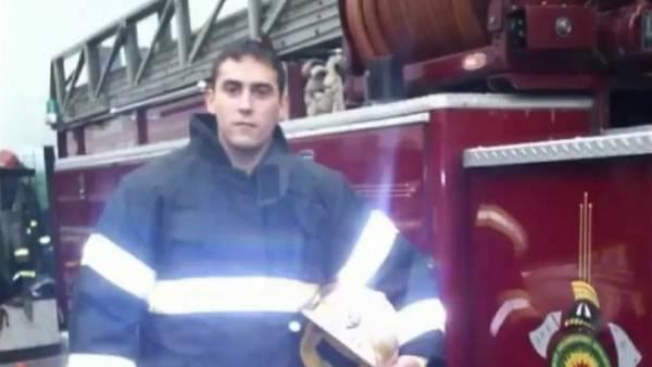Diego Cabo, bombero de Lanús asesinado.