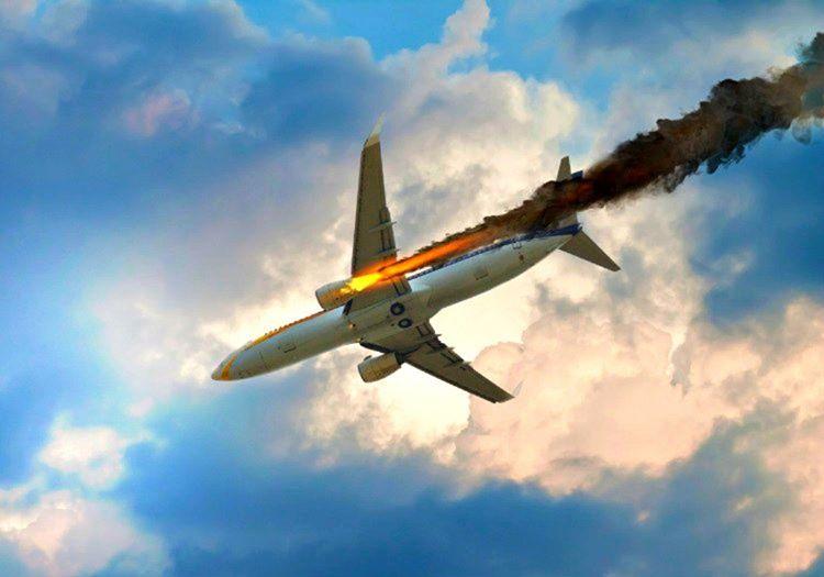 Havada motoru yanan uçak en yakın havaalanına acil iniş yapmak zorundadır.