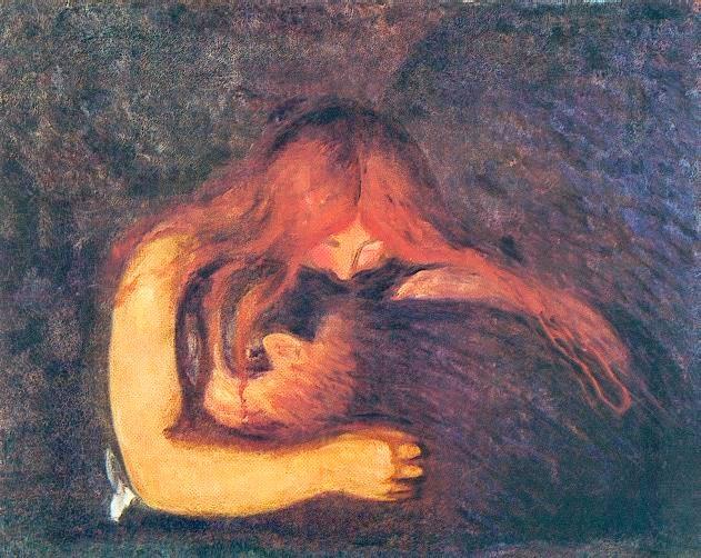 La Vampira Edvard Munch (1893-1894)