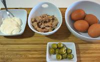 Huevos mimosa receta sencilla ingredientes