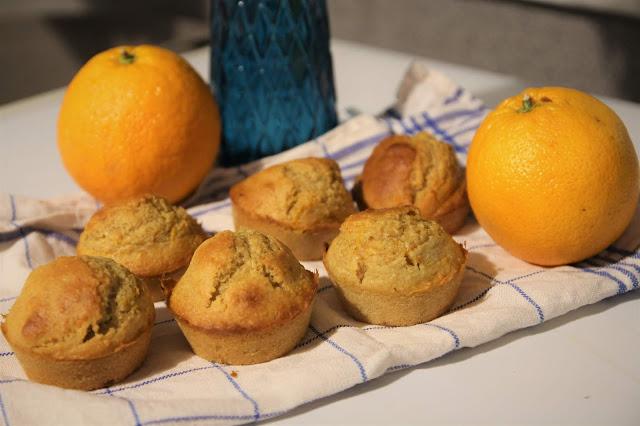 madeleines healthy orange