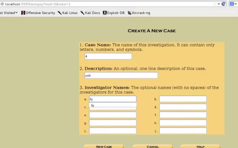 Digital Forensics Tutorial [Part 2] – Autopsy Case & Md5