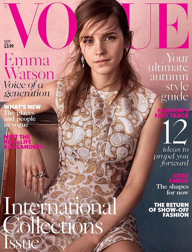 Emma Watson is beautiful for Vogue UK's September 2015 edition