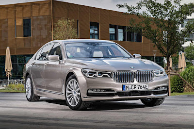 BMW 7 series - luxurious car