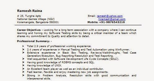 Software Qa Engineer Resume   Sample Customer Service Resume Software Engineer Resume Example Skills Tips For Engineering Software  Testing Experience Resume Format   Months Experience