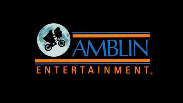 Logo de la société de production de Spielberg, Amblin