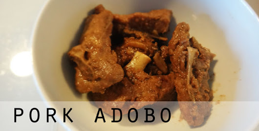 Power Foods | Pork Adobo