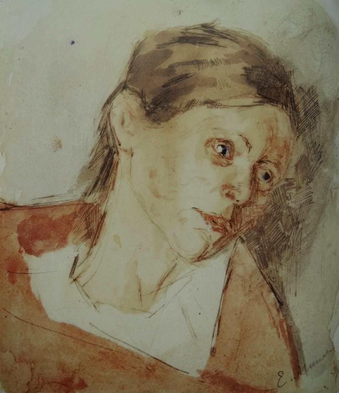 Where is Ariadne Edvard Munch  Drawings