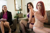 Elle Alexandra, Allie Haze, Angela Sommers – The Family Therapist