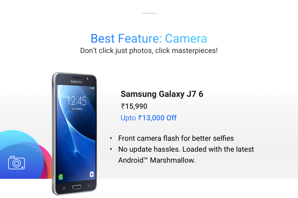 270682207 ... Mobile Mania On Flipkart Online Shopping Jaw Dropping Discount and Exchange  OFFER on The Best Smartphone. Best Feature Camera Samsung Galaxy J7