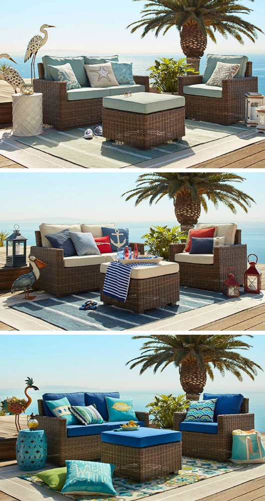 Coastal Outdoor Decor and Furniture from Pier 1