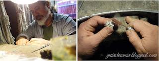 Ourives trabalhando joias roma - Um coliseu para chamar de meu - ourivesaria em Trastevere