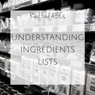 real food abcs - understand ingredient lists
