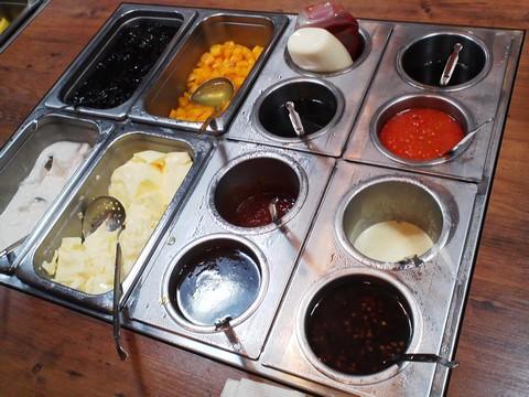 ビュッフェコーナー:デザート・ソース2 ステーキガスト一宮尾西店8回目