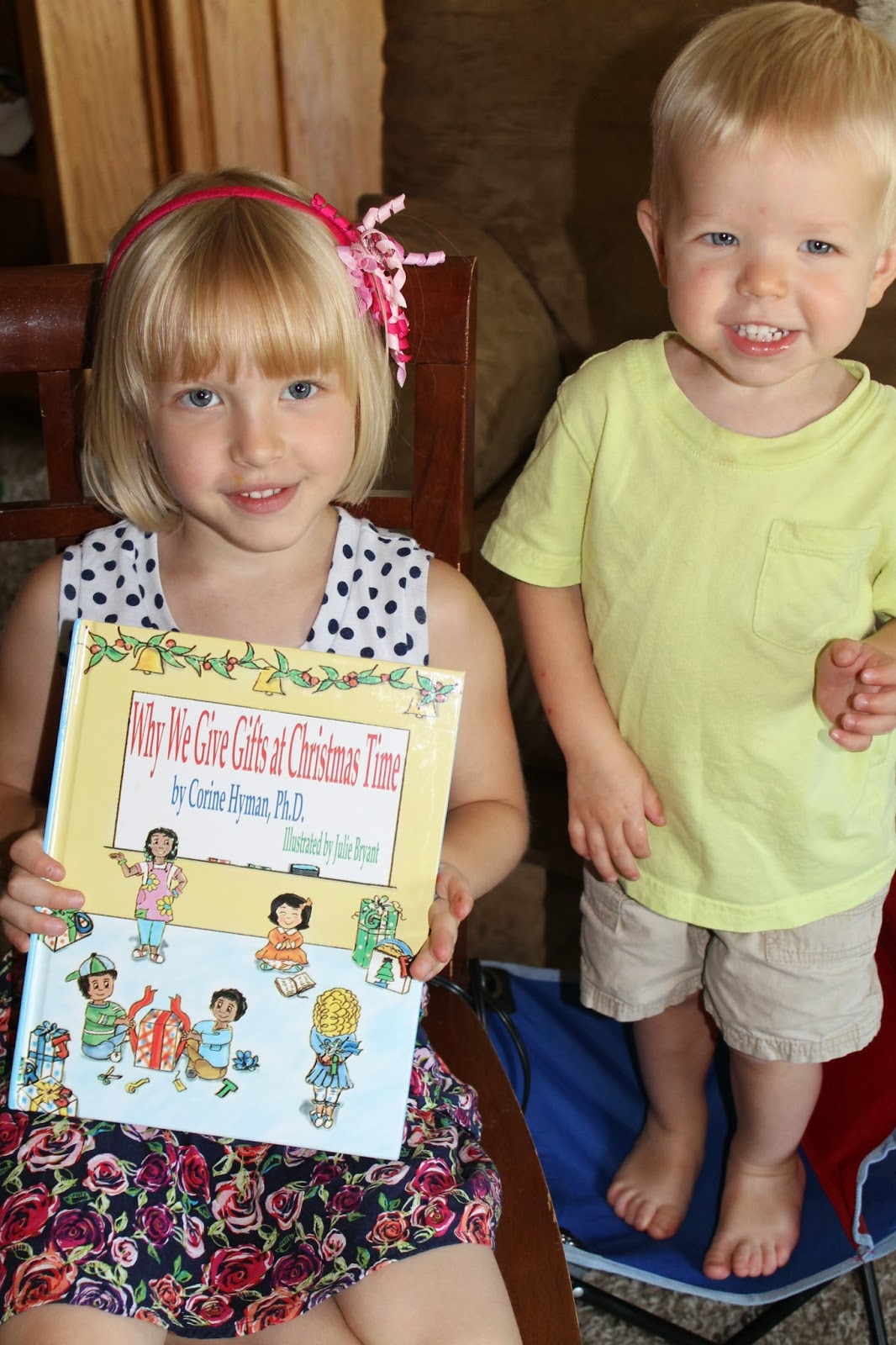 Why We Give Gifts at Christmas Time - Children\'s Book Giveaway ...