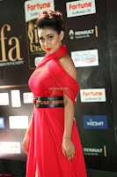 Apoorva in a Stunning Tight Leg Split Sleeveless Red Gown at IIFA Utsavam Awards 54.JPG