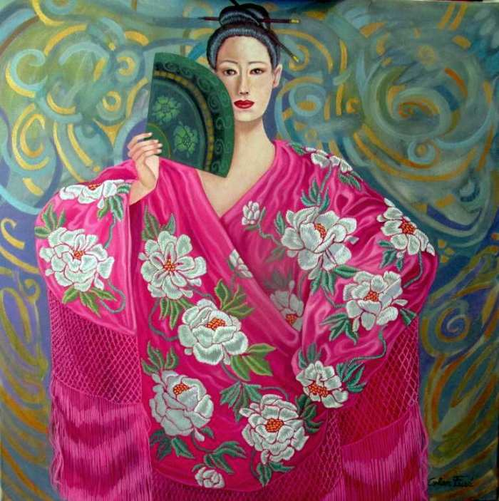 Японские женщины. Luis Cohen Fuse
