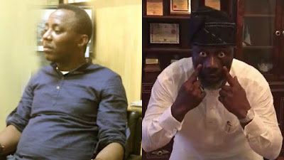 Sahara Reporters, Omoyele Sowore, Dino Melaye, Breaking: Police issues arrest warrant against Publisher of Sahara Reporters, Omoyele Sowore