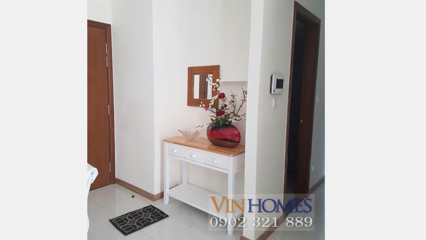 Officetel Vinhomes Central Park cho thuê - lối vào
