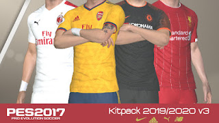 PES 2017 New Season 2019/2020 Kitpack v3.0