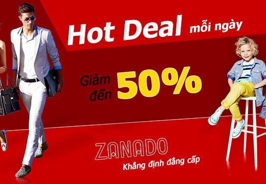 Mã giảm giá Zanado.vn (Voucher, coupon, phiếu mua hàng) tháng 5-2016