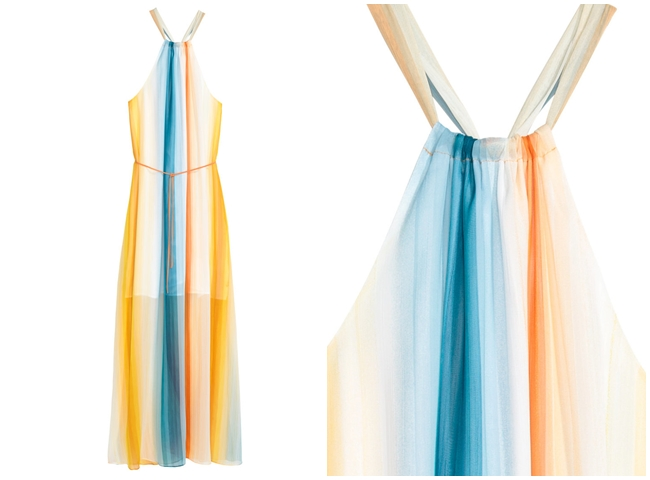 cf. 2016 SS Chloé Rainbow Dress