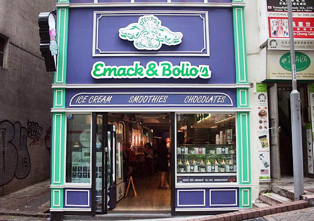 Emack and Bolio's at Cochrane Street Hong Kong