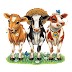 Dibujos de Vacas para tubes