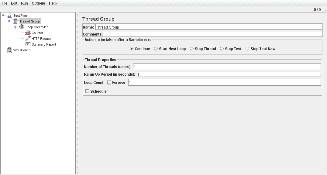 Sunil's Notes: Using JMeter for load testing REST service