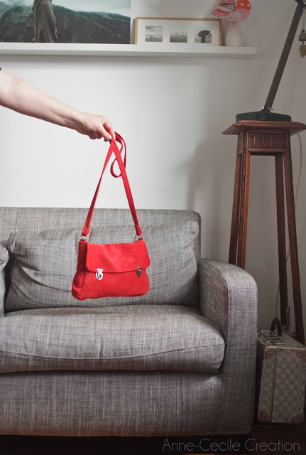 red leather bag gift idea for mothers day