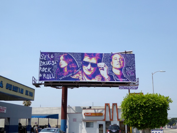Sex Drugs Rock Roll season 2 billboard