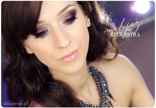 Alina Rose Blog Kosmetyczny Makijaż Sylwestrowy Lśniące Smoky Krok