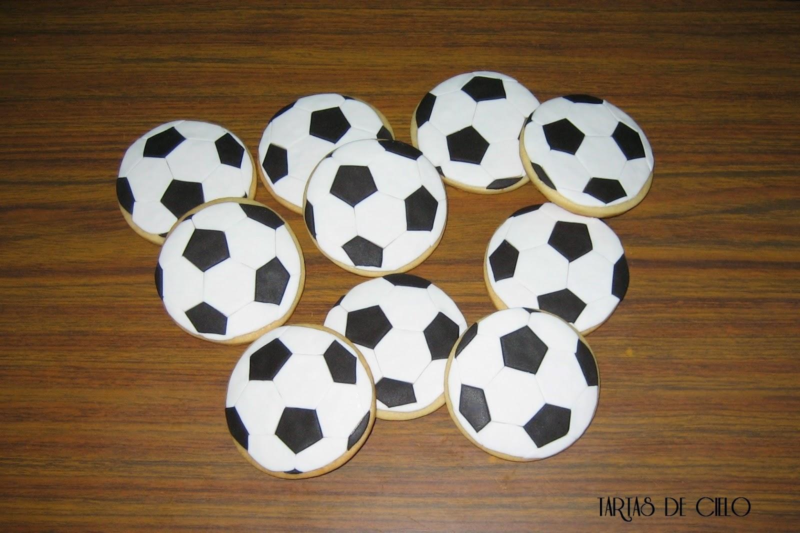 Tartas De Cielo Galletas Decoradas Balón De Fútbol