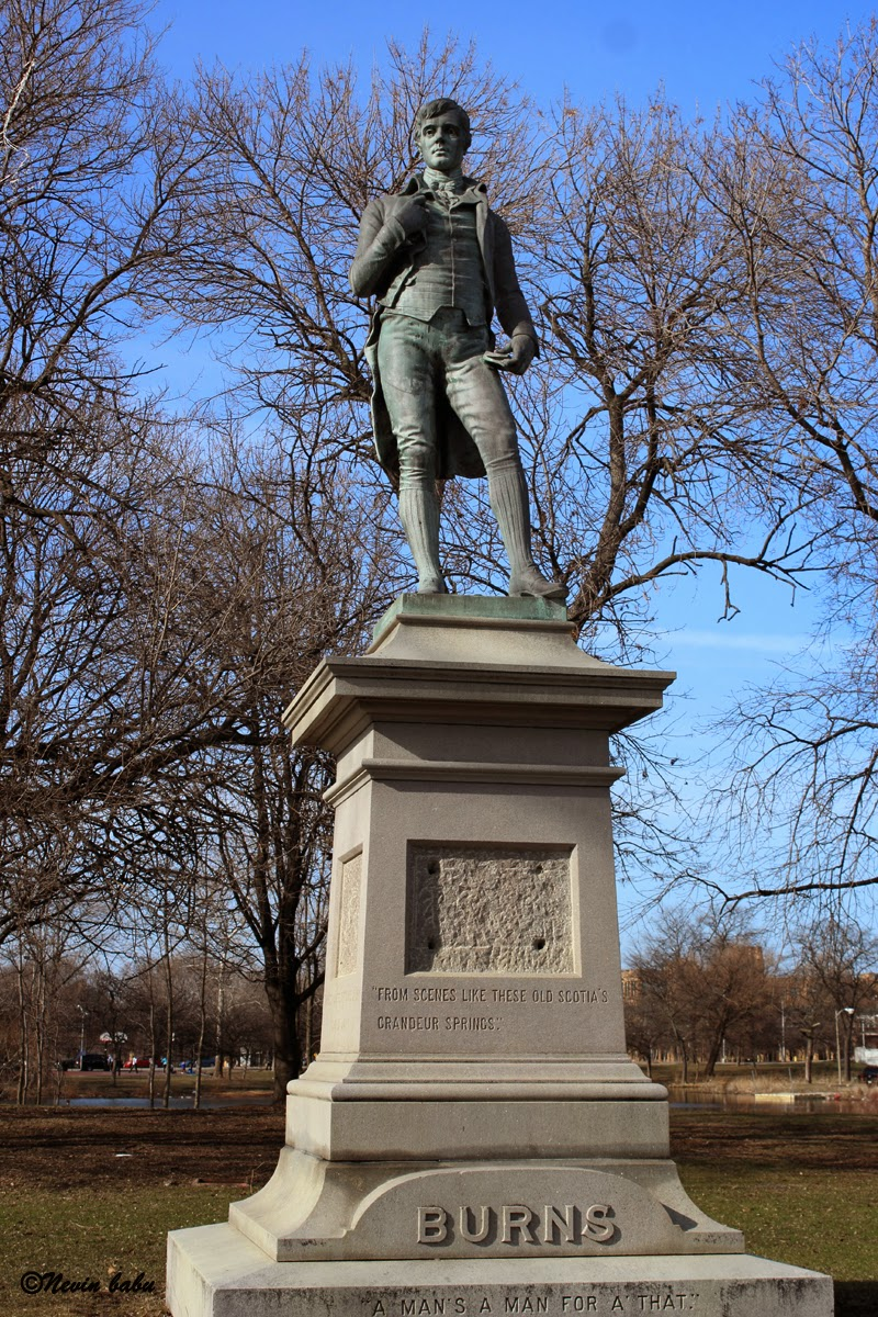 Robert Burns Memorial Garfield Park