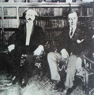 Ignacy Paderewski i Woodrow Wilson w Białym Domu - 1917