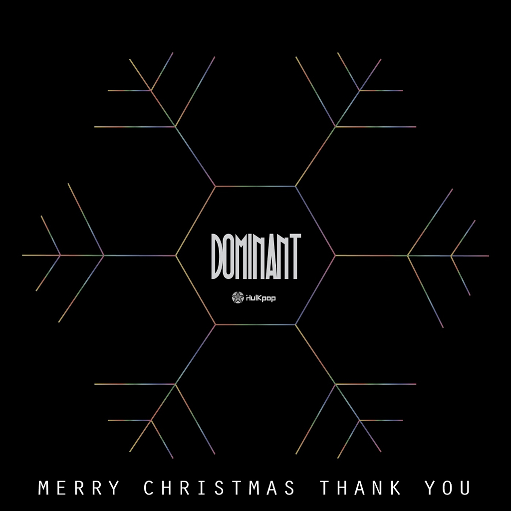 [Single] JiwL, Woody, BaboHyung, Boddah – DOMINANT The 1st `Merry Christmas, Thank You`