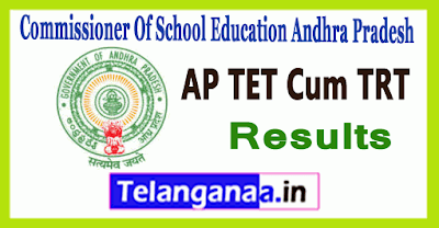 AP Andhra Pradesh DSC TET/TRT Result