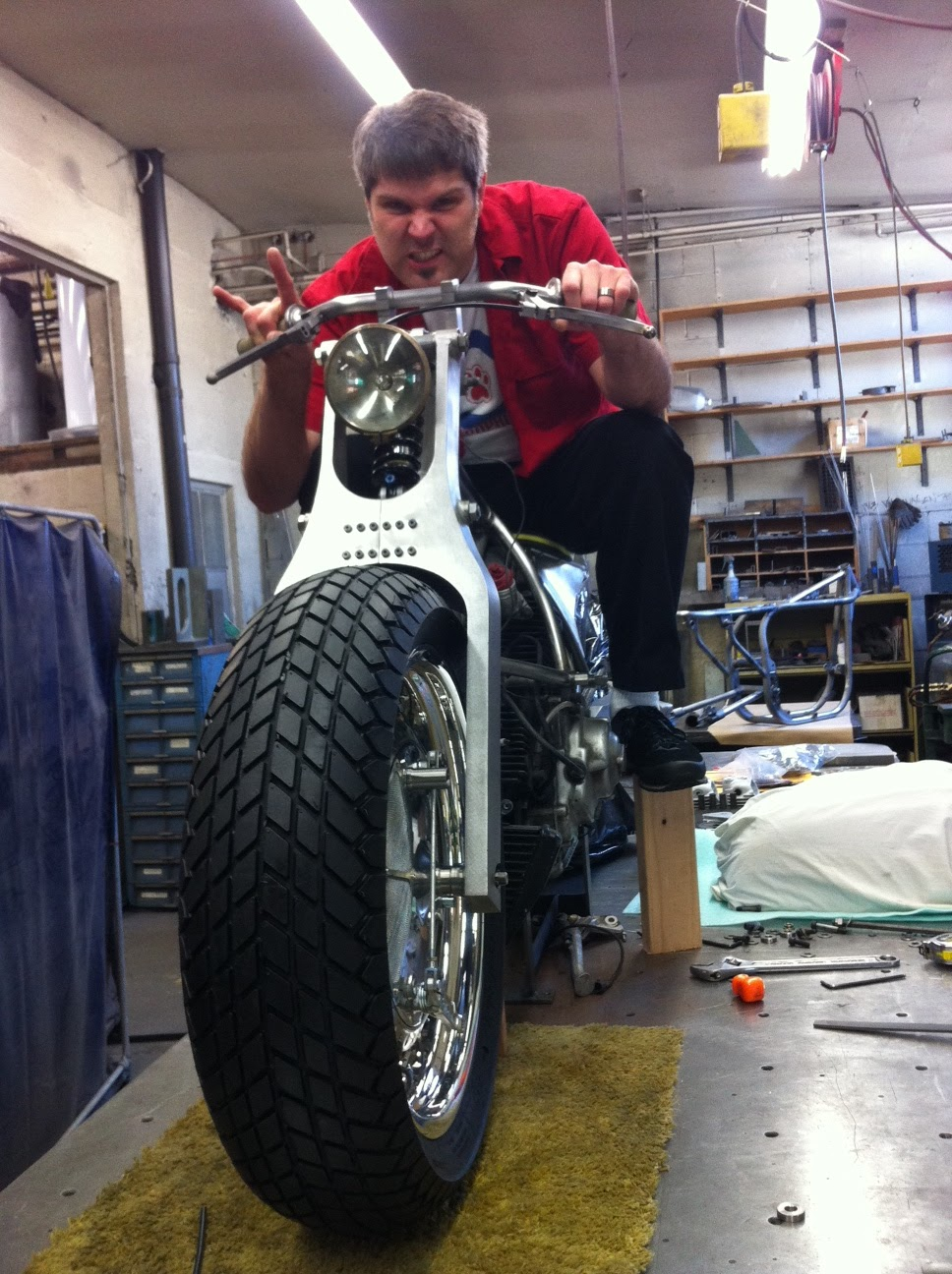 speed shop design llc: ducati test drive