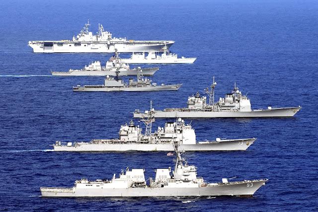 RIMPAC: EUA retiram convite para China participar de manobras militares