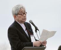 大江健三郎、加藤登紀子、原発いらない3・11福島県民大集会