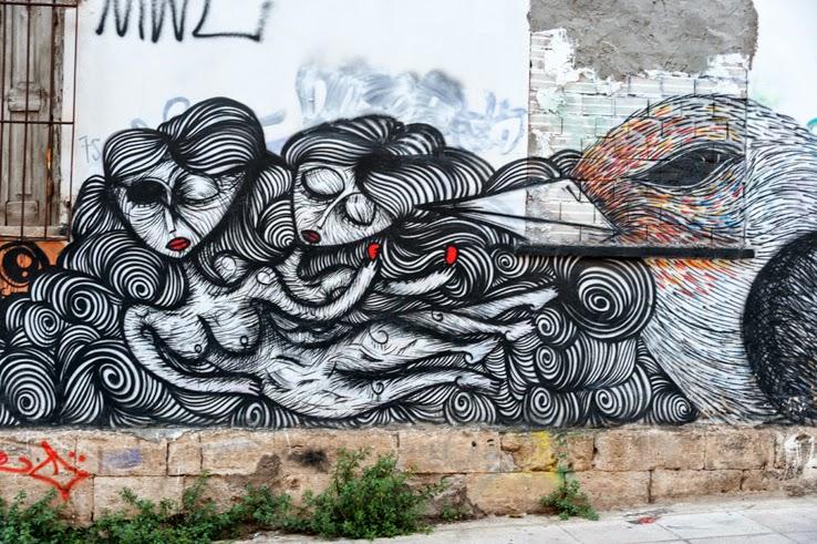 Sonke Greek Street Artist Athens