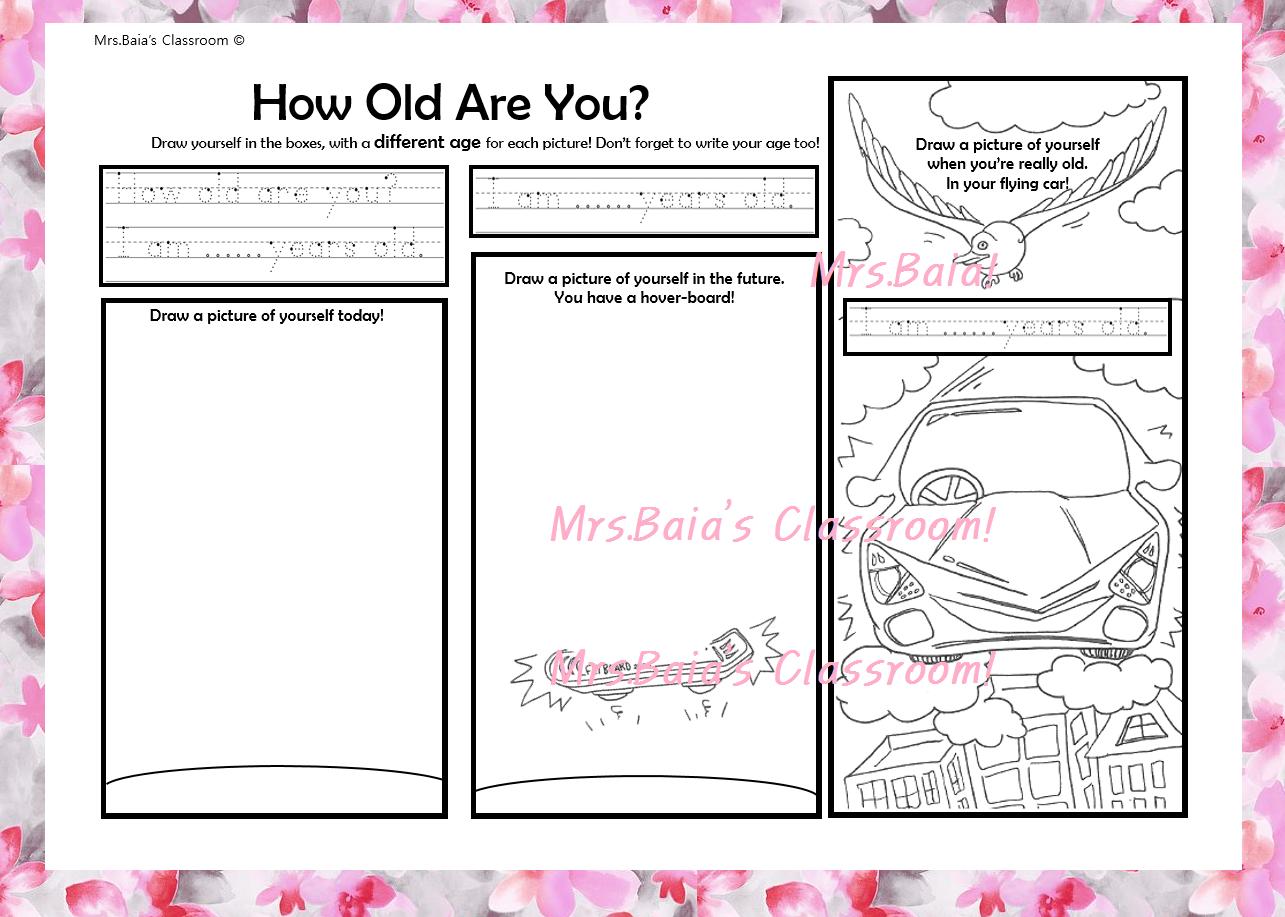 How Old Are You Esl Worksheet