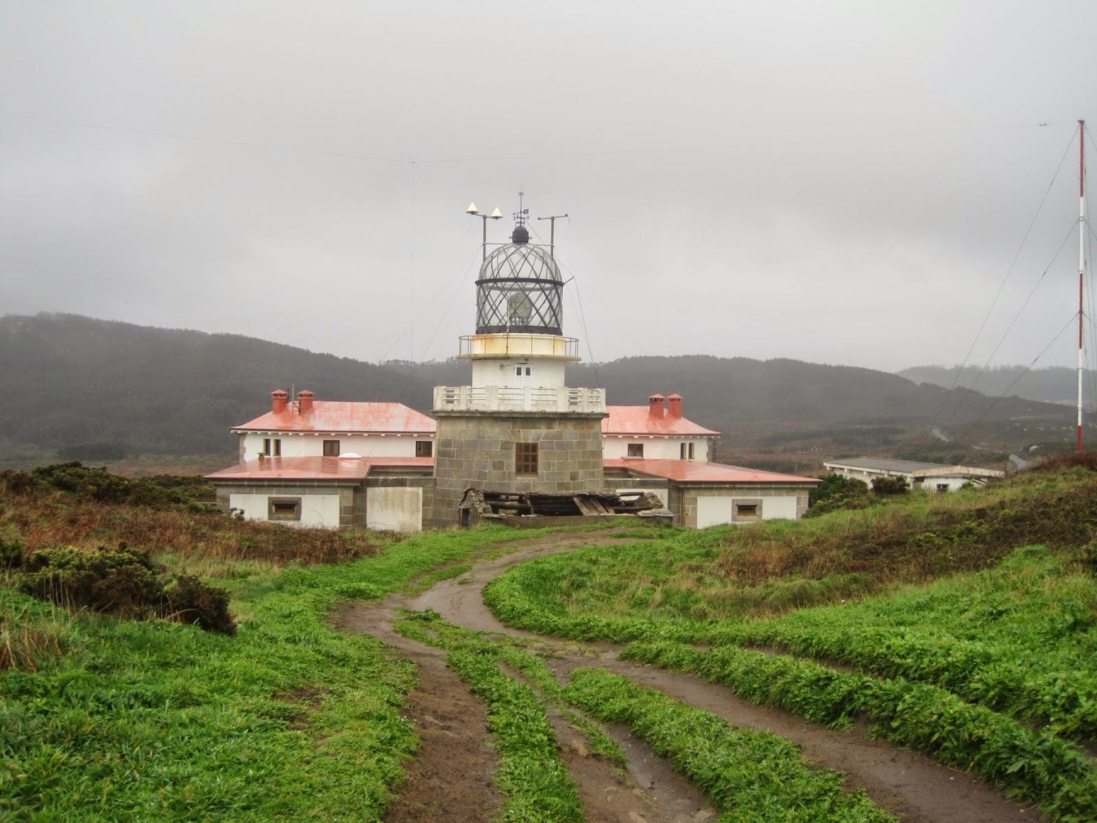 Faro de Estaca de Bares en Mañón